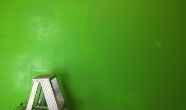 Grøn væg - maler